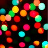 Picture of bokeh christmas tree lights